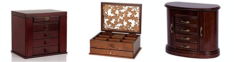 5 year anniversary gift jewelry box