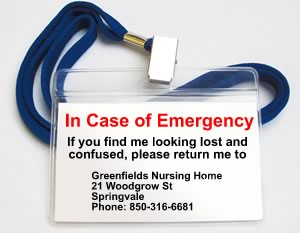 50th birthday gag gift in case of emergency I.C.E. tag