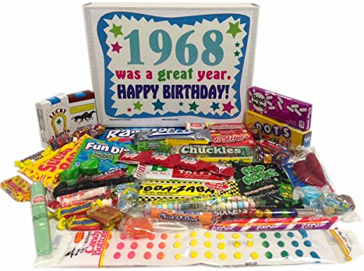 50th Birthday Ideas Candy