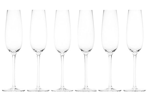 50th birthday ideas champagne flutes