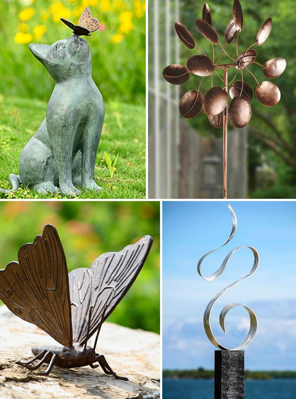 50th birthday ideas garden sculpture