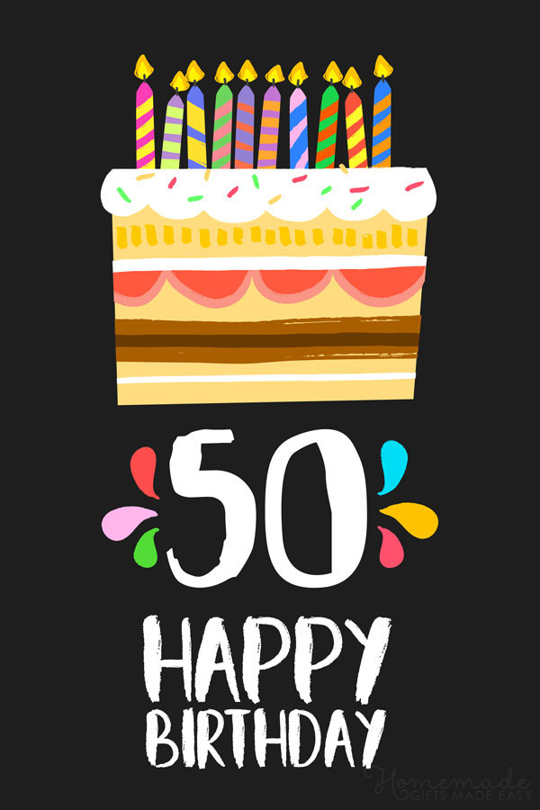Amazing Happy 50Th Birthday Wishes For Friends And Family Funny Birthday Cards Online Elaedamsfinfo