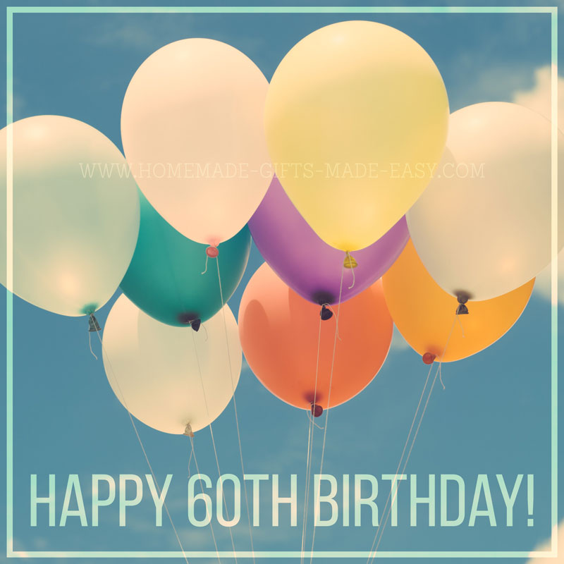 48 Best 60th Birthday Wishes & Messages
