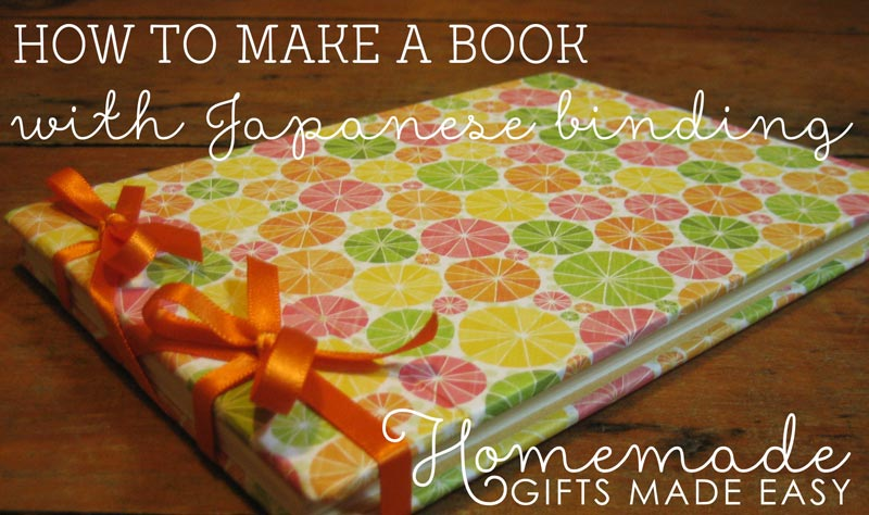 homemade birthday gift how to make a book journal