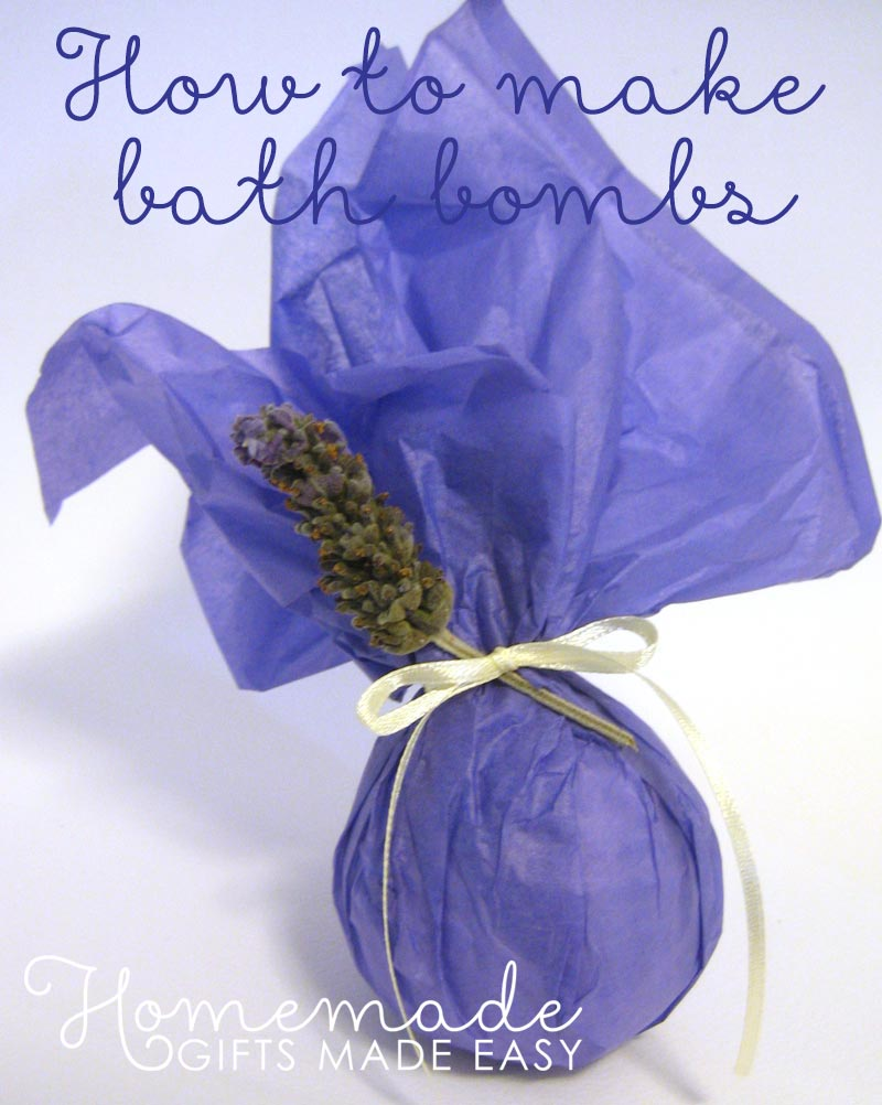 homemade birthday gift ideas bath bombs