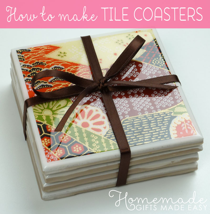 Homemade Birthday Gift Idea Coasters