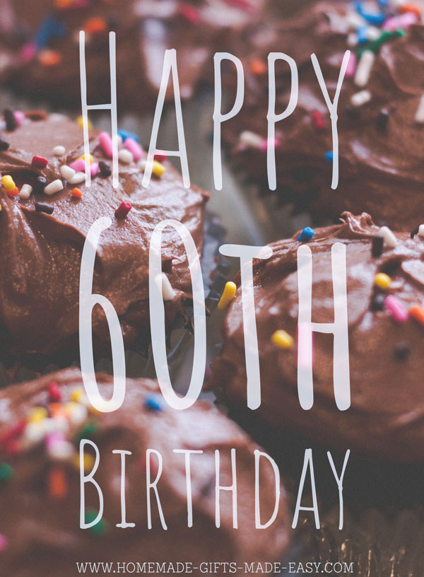 48 Best 60th Birthday Wishes Messages
