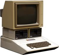 Apple II computer. The sexiest computer of 1977
