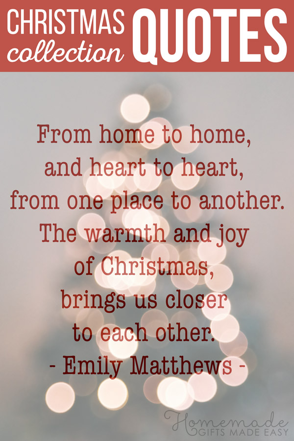 Best Christmas quotes collection for the festive season.