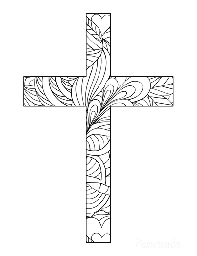 Bible Coloring Pages Cross Mindfulness Coloring for Teens
