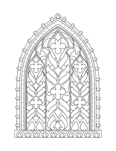 Bible Coloring Pages Stain Glass Window