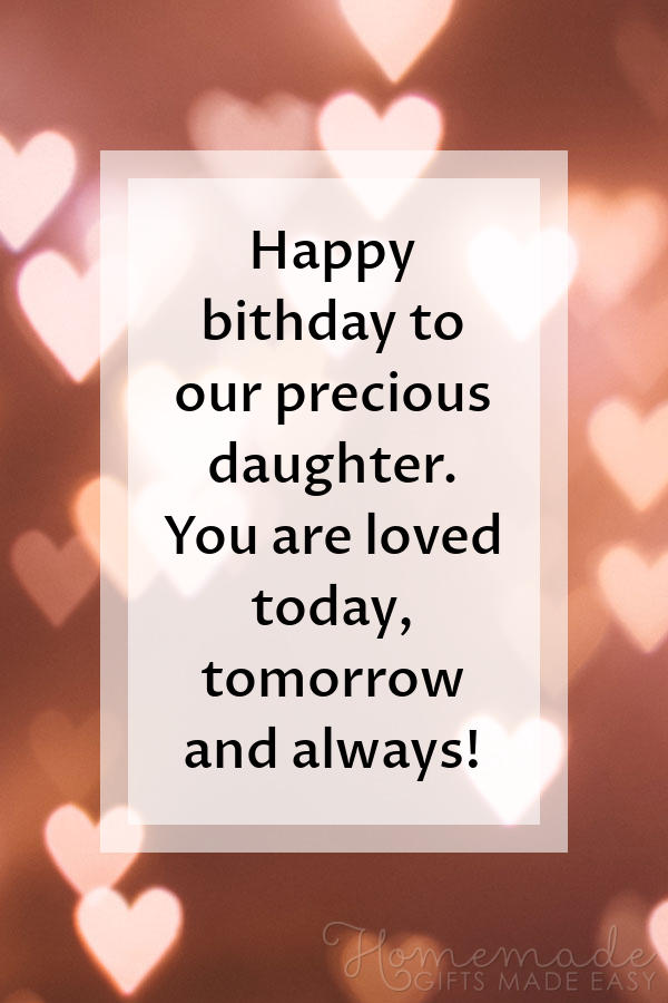 Astonishing 85 Happy Birthday Wishes For Daughters Best Messages Quotes Personalised Birthday Cards Paralily Jamesorg