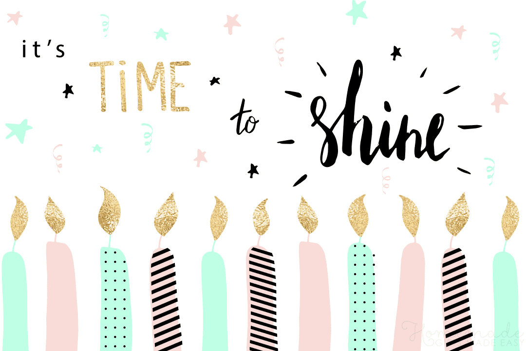 Birthday Wishes for Friend | It's time to shine!