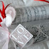 homemade valentine gifts - candy tubes