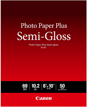 canon semi gloss photo paper