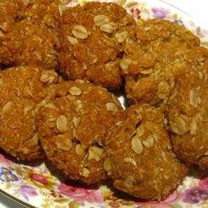 homemade food gifts oatmeal cookie recipe