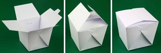 mini chinese take out box finished