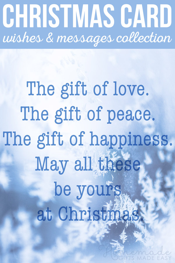 75 best christmas card messages wishes and sayings