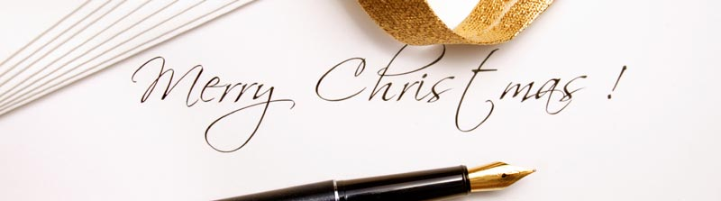 writing christmas messages