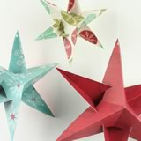 3D Christmas Star Decorations