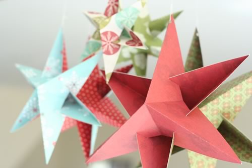 christmas star decorations to make from paper