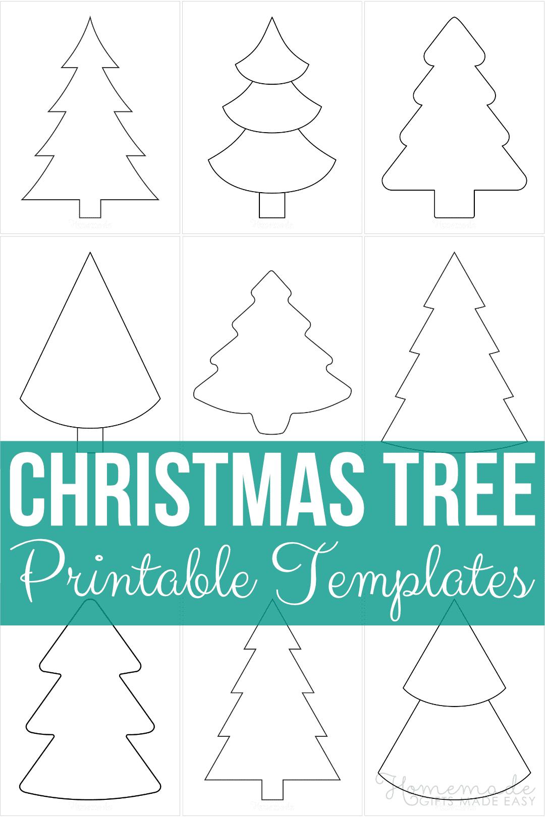 christmas tree template