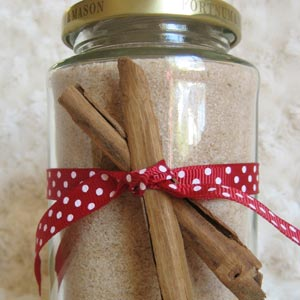 Homemade gifts in a jar food gifts in a jar homemade food gifts cinnamon sugar negle Gallery