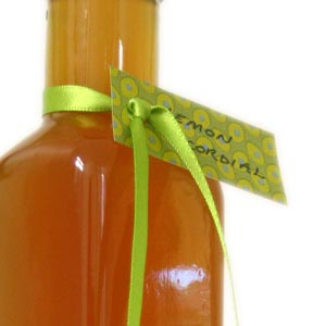 homemade food gifts lemon cordial