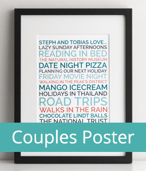 couple's likes poster