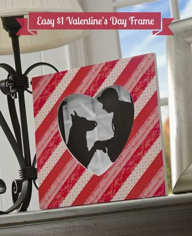 creative valentine ideas easy picture frame