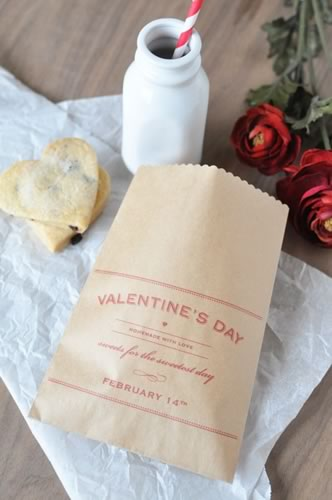 creative valentine ideas treat bag