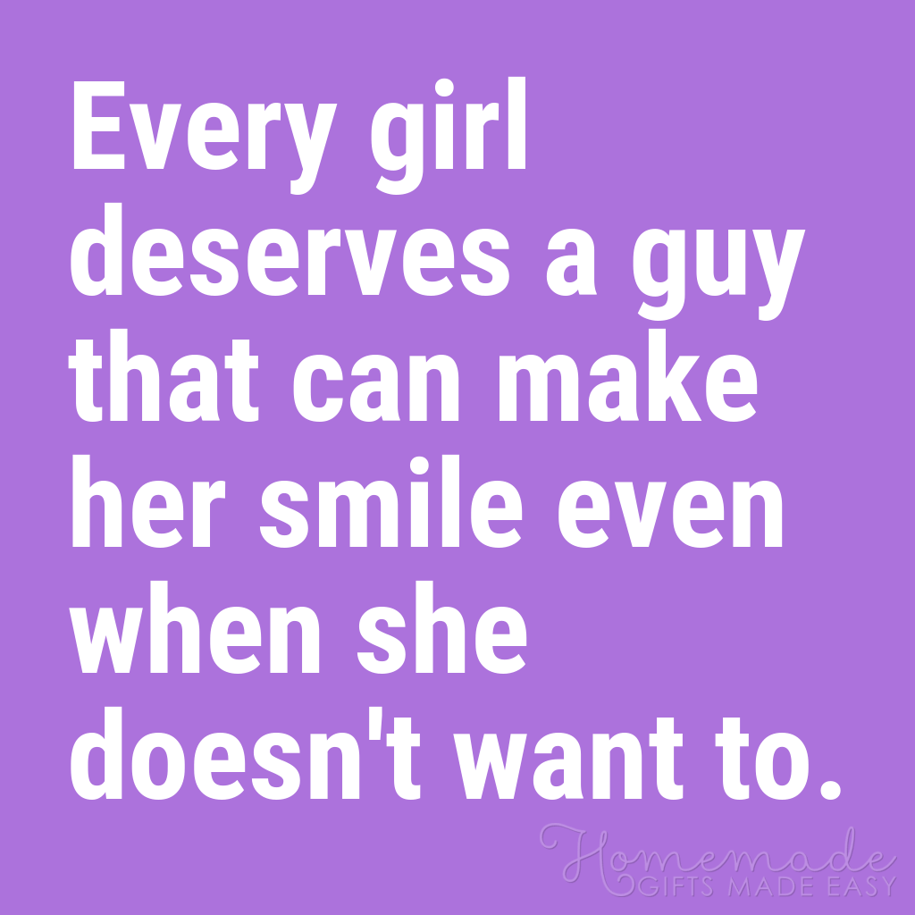 cute boyfriend quotes a guy that can make her smile