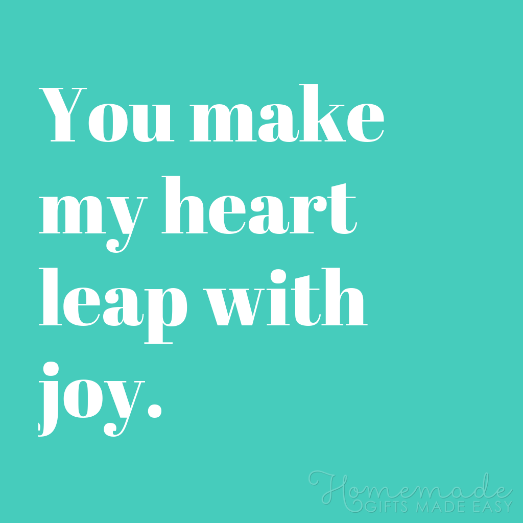 cute boyfriend quotes heart leap with joy