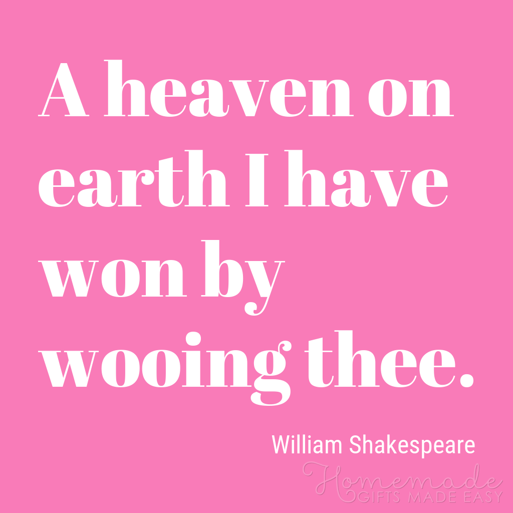 cute boyfriend quotes heaven on earth shakespeare