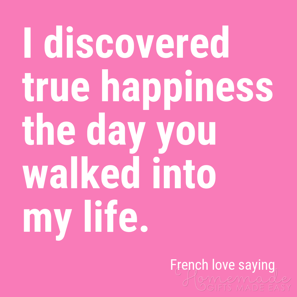 cute boyfriend quotes i discovered true happiness