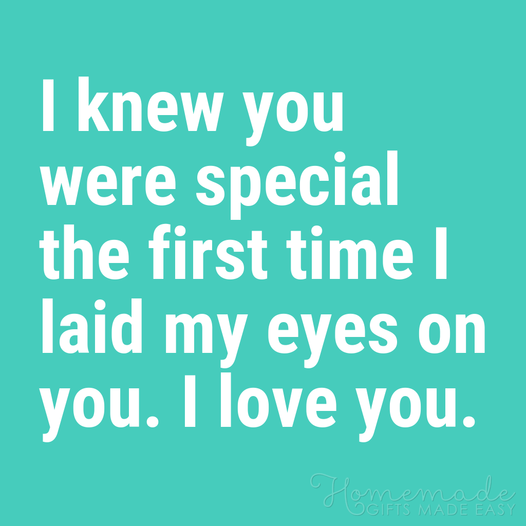 cute boyfriend quotes i knew you were special