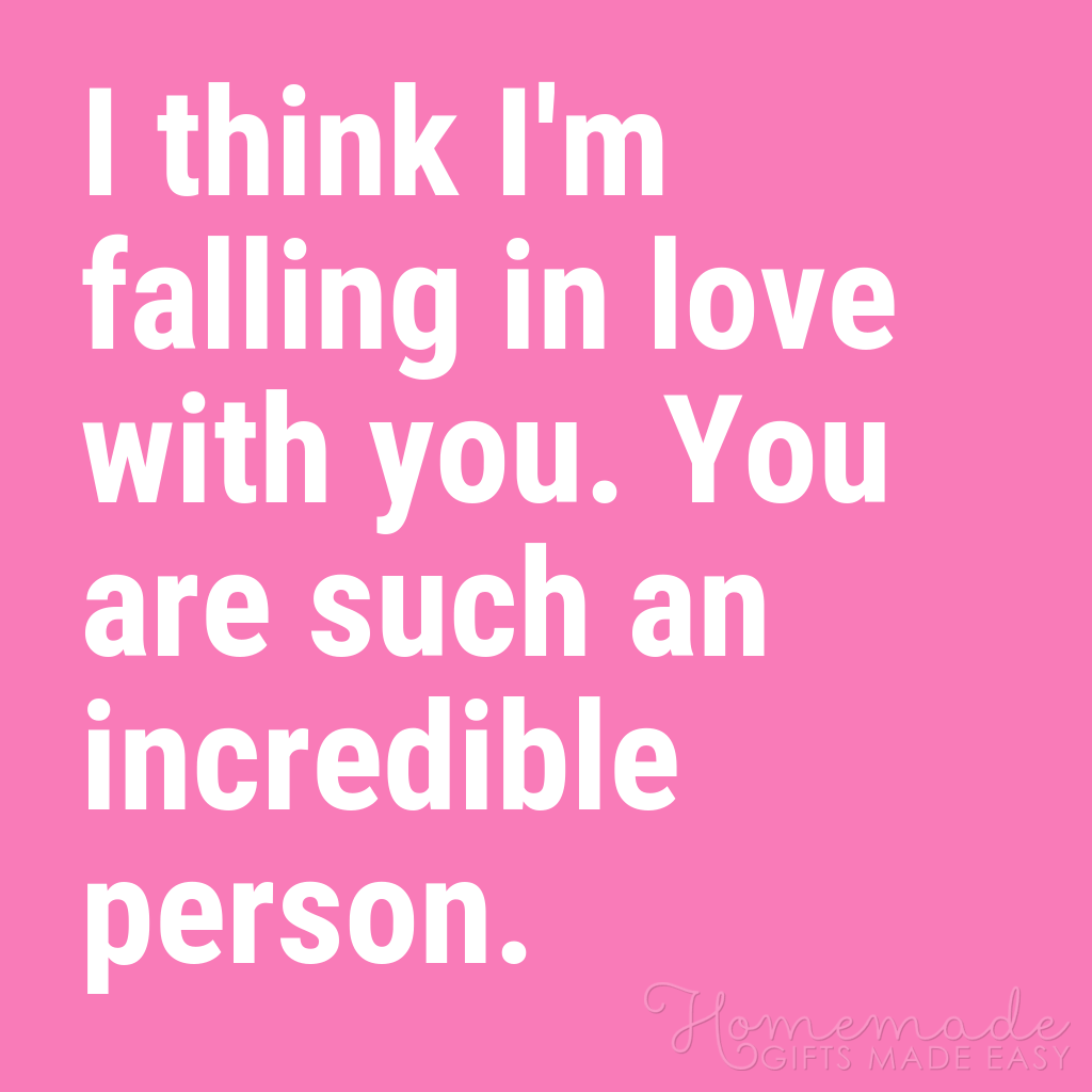 cute boyfriend quotes i think im falling in love with you