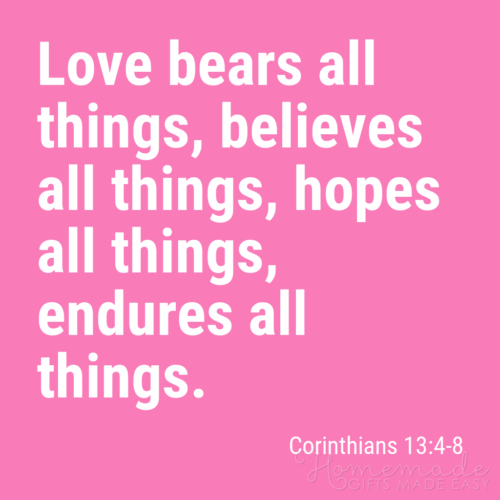cute boyfriend quotes love bears all things corinthians