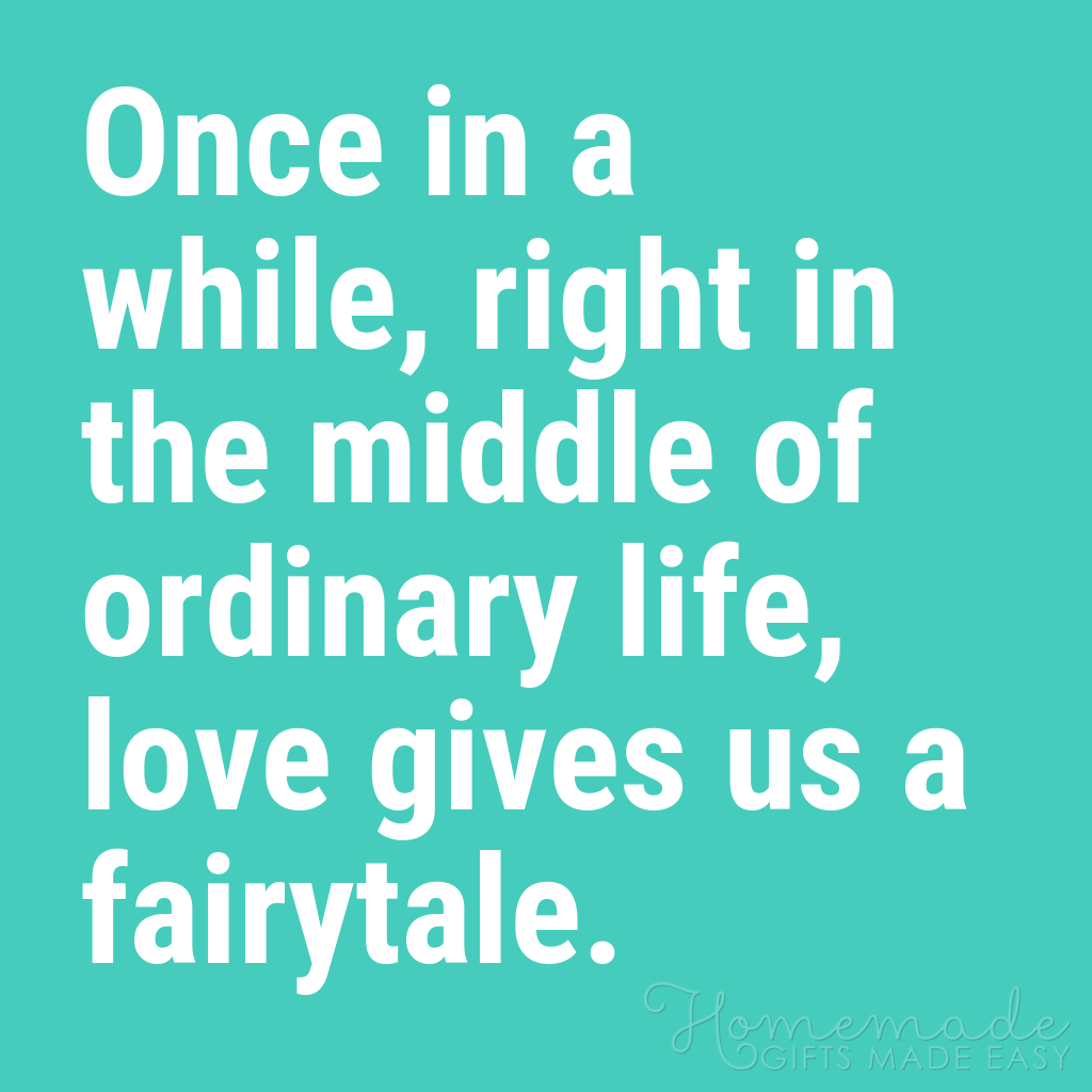 cute boyfriend quotes love gives us a fairytale