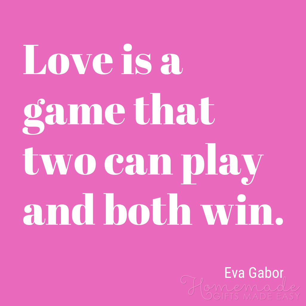 cute boyfriend quotes love is a game both can win