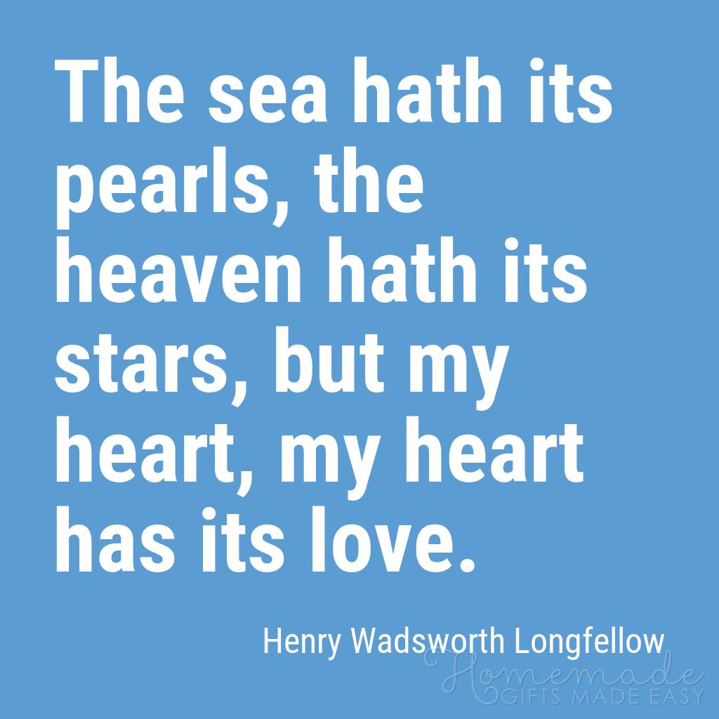 cute boyfriend quotes my heart has its love longfellow