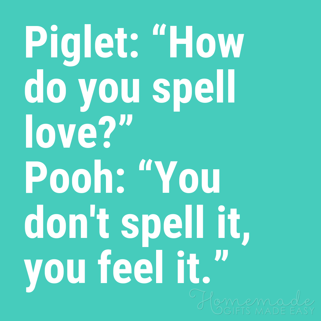 cute boyfriend quotes piglet and pooh