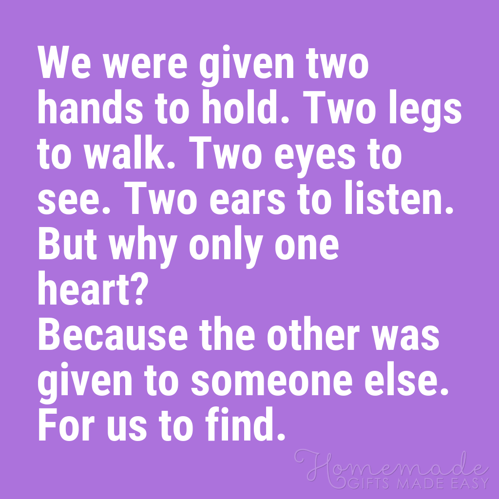 cute boyfriend quotes two hands one heart