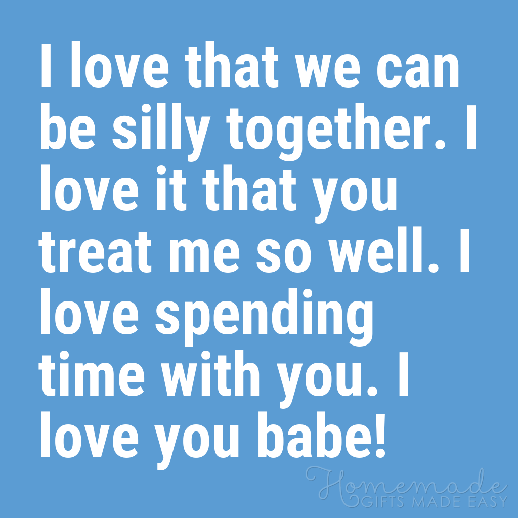 cute boyfriend quotes we can be silly together
