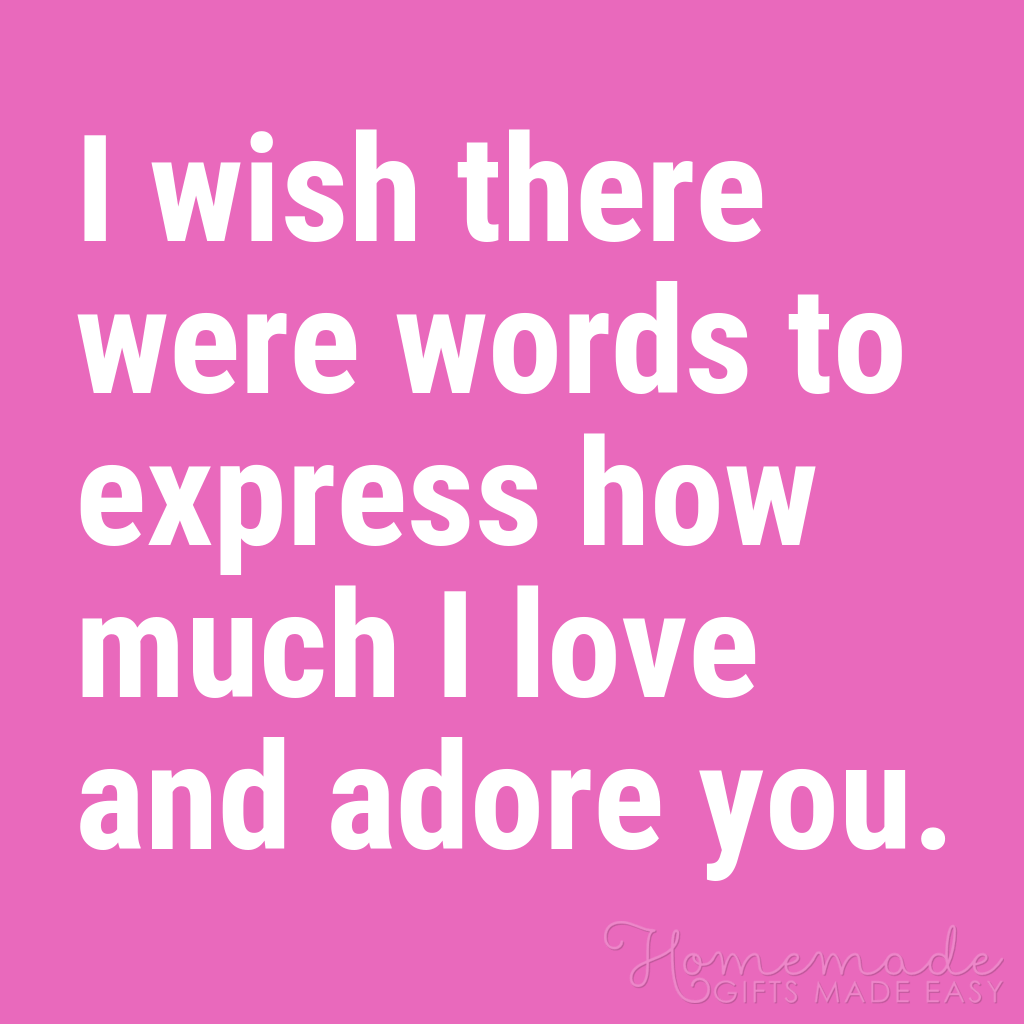 cute boyfriend quotes wish there were words