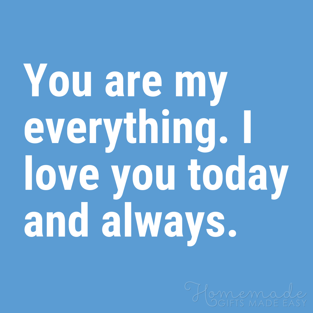 cute boyfriend quotes you are my everything