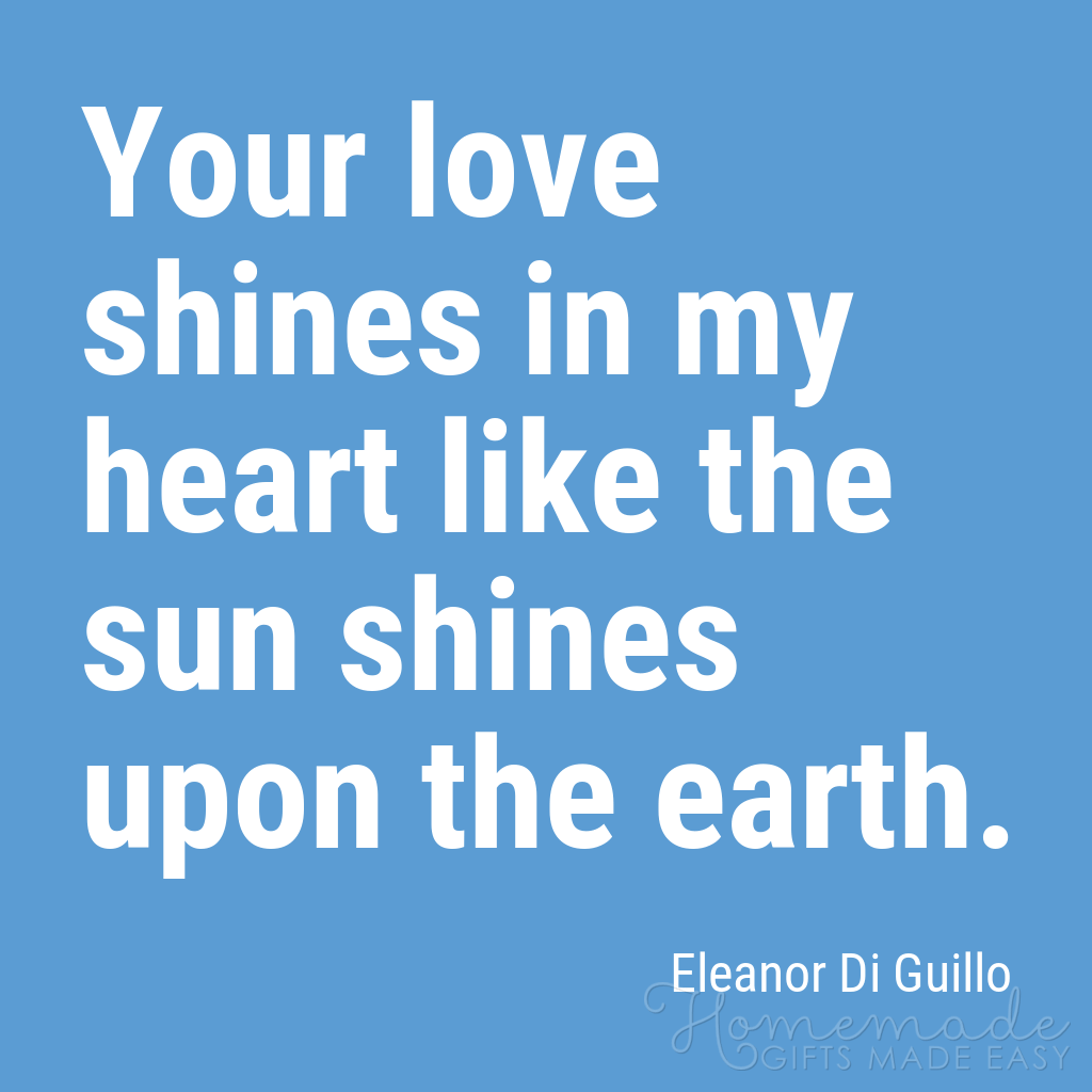 cute boyfriend quotes your love shines in my heart