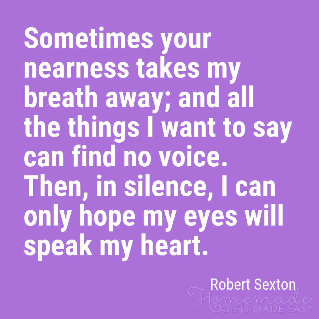 cute boyfriend quotes your nearness takes my breath away