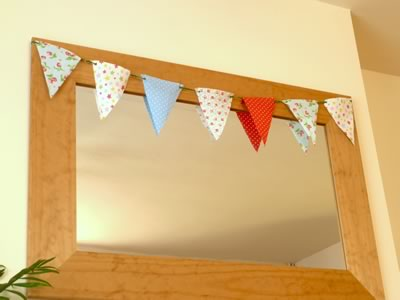 how to make decorative bunting
