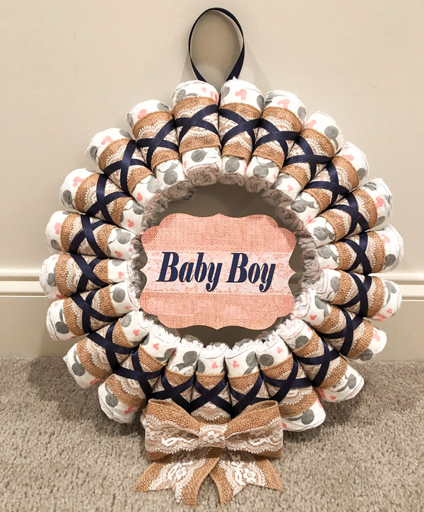 diaper wreath roselyn